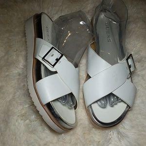 Guess sandals/slides 9
